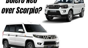Mahindra Bolero Neo vs Mahindra Scorpio