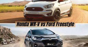 Honda WR-V vs Ford Freestyle