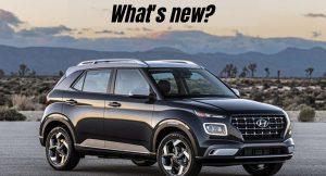 Hyundai Venue updated- What's new