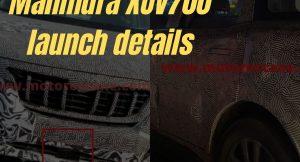 Mahindra XUV700 launch