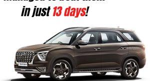 Hyundai Alcazar beat these cars in just 13 days!