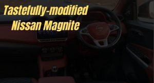 Nissan Magnite modified