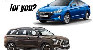 Hyundai Elantra vs Hyundai Alcazar - Which one is for you?