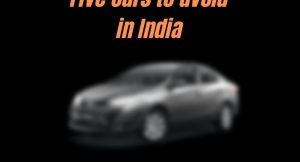 cars to avoid in India