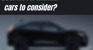 Buy these 5 diesel manual cars