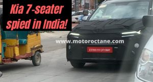 Rs 11 lakh Kia 7-seater spied in India!