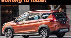 Maruti XL7 coming to India?