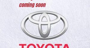 Toyota seven seater