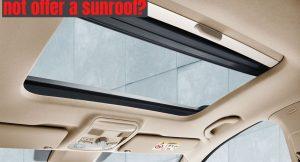 Maruti cars with sunroof