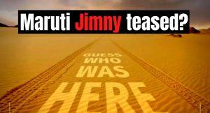 Maruti Jimny teased