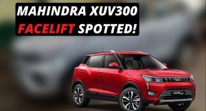 Mahindra XUV300 facelift